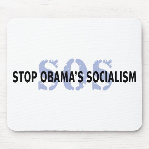 SOS Stop Obama's Socialism Mousepads