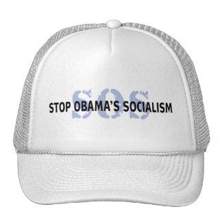 SOS Stop Obama's Socialism Trucker Hat