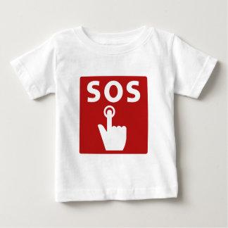 SOS, Subway Sign, Japan Baby T-Shirt