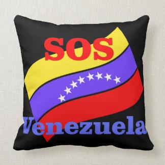 SOS VENEZUELA THROW PILLOW
