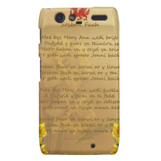 Sosban Fach Welsh Song Droid RAZR Cover