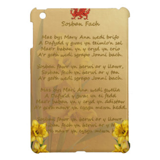 Sosban Fach Welsh Song iPad Mini Cover