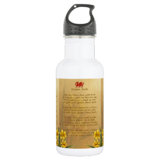 Sosban Fach Welsh Song Water Bottle
