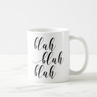 ¡Soso - soso! Taza moderna de la tipografía de la