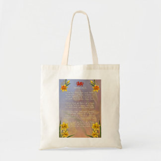 Sospan Fach Daffodil Decorated Bags