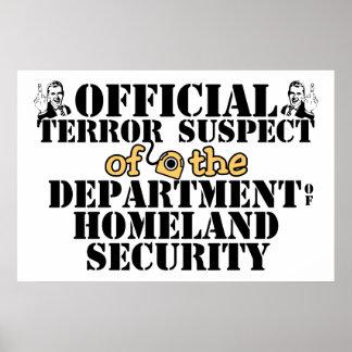 Sospechoso de terror oficial poster