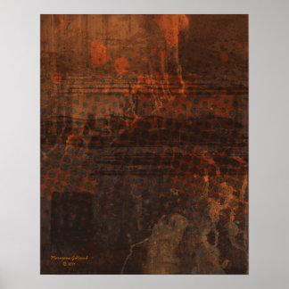 Sostenga la impresión del extracto del arte del póster