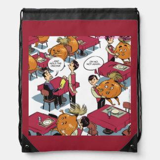 Sostenga la mochila divertida del lazo de la