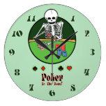 Sosténgalos póker esqueléticos relojes