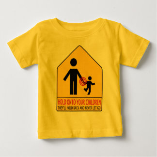sosténgase en 2 niños del ur playera de bebé