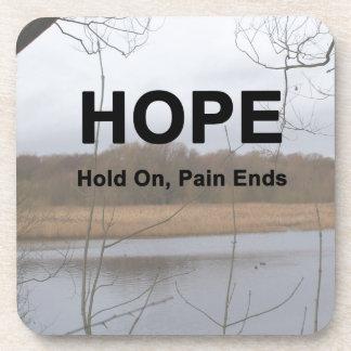 Sosténgase encendido, los extremos del dolor posavaso