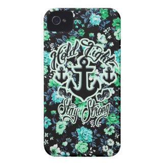 Sosténgase firmemente, la estancia Art. náutico Case-Mate iPhone 4 Protector