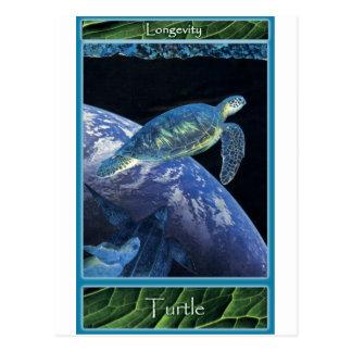 Sosténgase las tarjetas:: Tortuga Postal