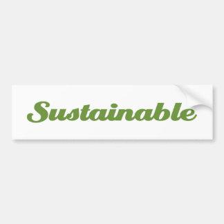 Sostenible Etiqueta De Parachoque