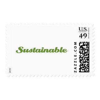 Sostenible Sello Postal