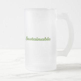 Sostenible Taza De Cristal