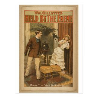 Sostenido por el enemigo tarjetas postales
