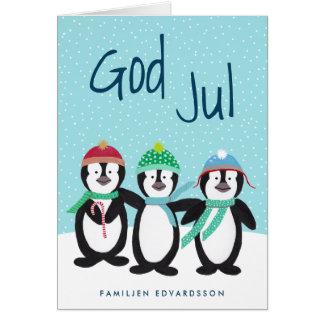Söt Julkort Card