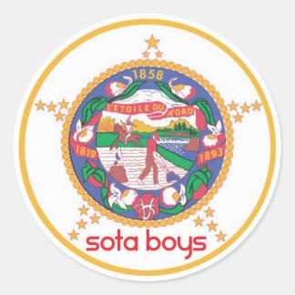 Sota Boys MN State Flag Sticker