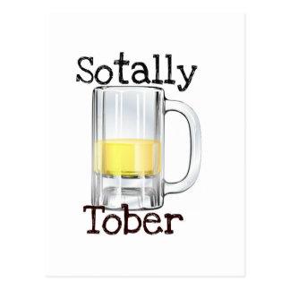 Sotally Tober Beer Print Postcard