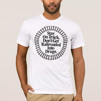 SOTDGRID Black on white T-Shirt
