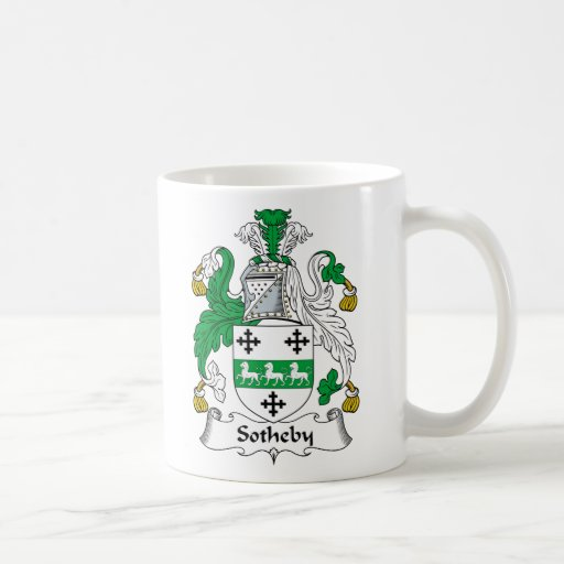 Sotheby Family Crest Coffee Mug