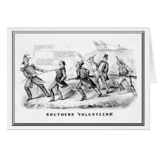 """Sothern """"se ofrece voluntariamente"""", curtidor y li tarjeta de felicitación"""