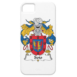 Soto Family Crest iPhone 5 Covers