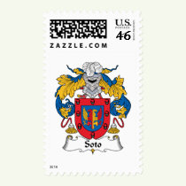Soto Family Crest Stamps