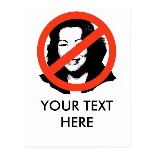 Sotomayor Anti-Sotomayor/Anti-Sonya Postales