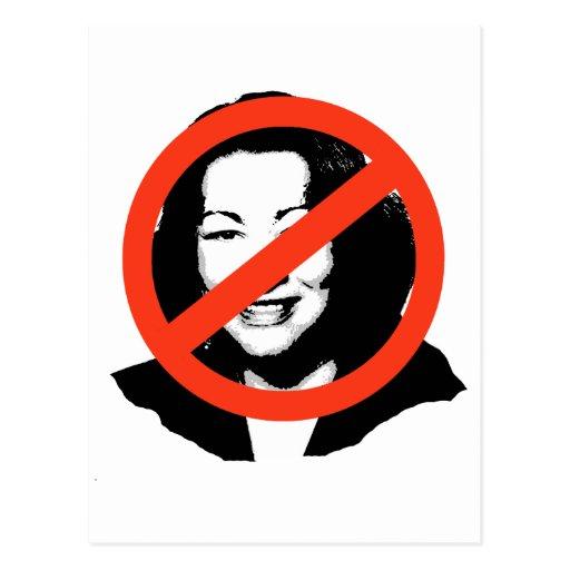 Sotomayor Anti-Sotomayor/Anti-Sonya Tarjetas Postales