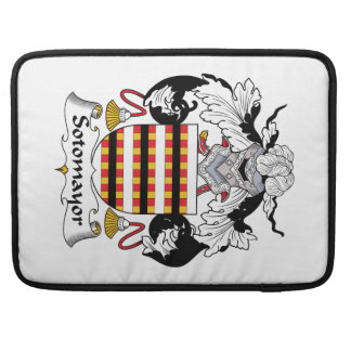 Sotomayor Family Crest MacBook Pro Sleeve