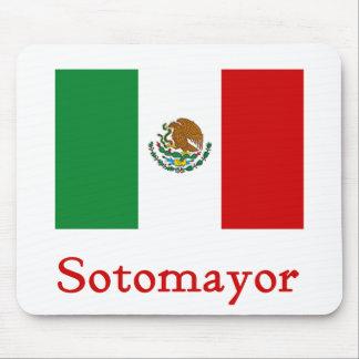 Sotomayor Mexican Flag Mouse Pad
