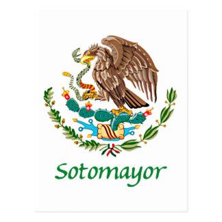 Sotomayor Mexican National Seal Postcard