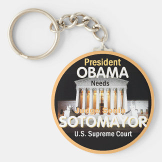 Sotomayor Supreme Court Keychain
