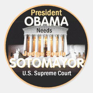 Sotomayor Supreme Court Sticker