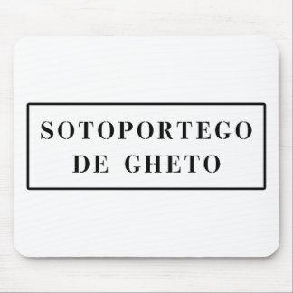 Sotoportego de Gheto, Venice, Italian Street Sign Mousepad