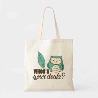 SOTR whoo's your doula? Travel Tote Bag