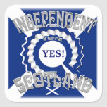 Sottish Independence Campaign Square Stickers