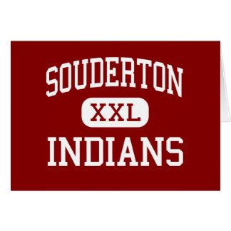 Souderton - indios - alto - Souderton Tarjeton