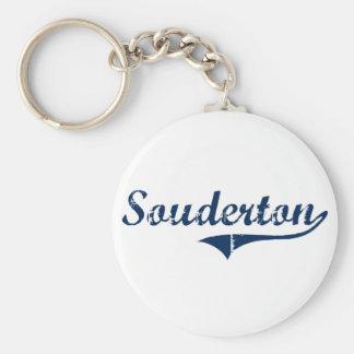 Souderton Pennsylvania Classic Design Key Chains