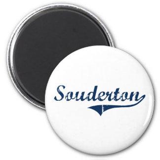 Souderton Pennsylvania Classic Design Fridge Magnet