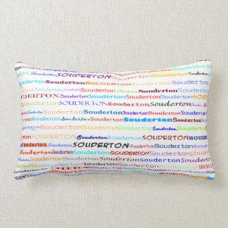 Souderton Text Design II Lumbar Pillow