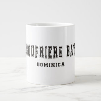 Soufriere Bay Dominica Large Coffee Mug