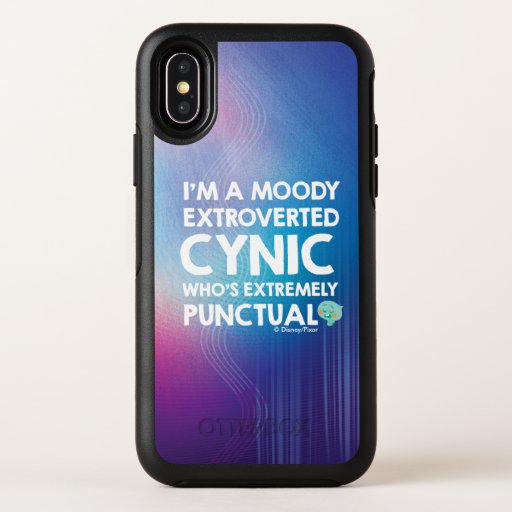 Soul | 22 - I'm A Moody Extroverted Cynic OtterBox Symmetry iPhone XS Case