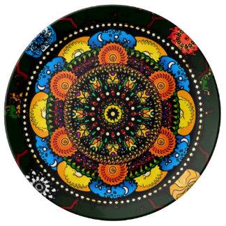 Soul Balance Mandala Porcelain Plate
