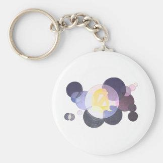 Soul Basic Round Button Keychain
