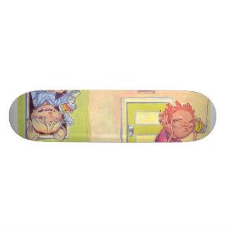 """""""Soul Bean Communique"""" Skate Deck"""