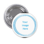 Soul Blissed Circle Custom Button, black