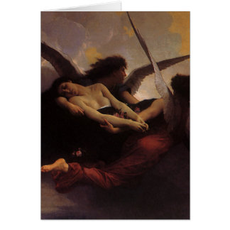 Soul Brought to Heaven by Bouguereau, Vintage Art Card